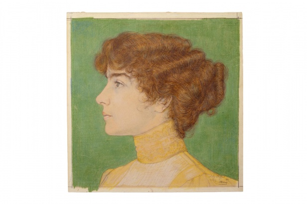 Jan Toorop: Lily Clifford, 1902, Haags Gemeentemuseum